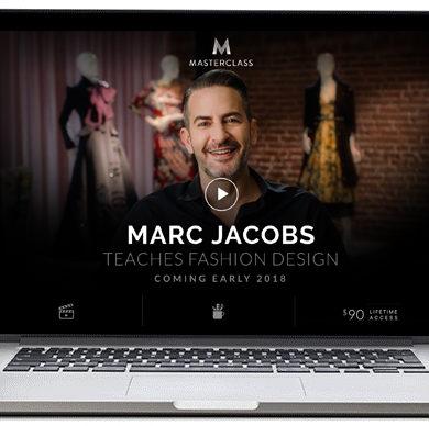 Marc Jacobs впервые проведет онлайн-курс