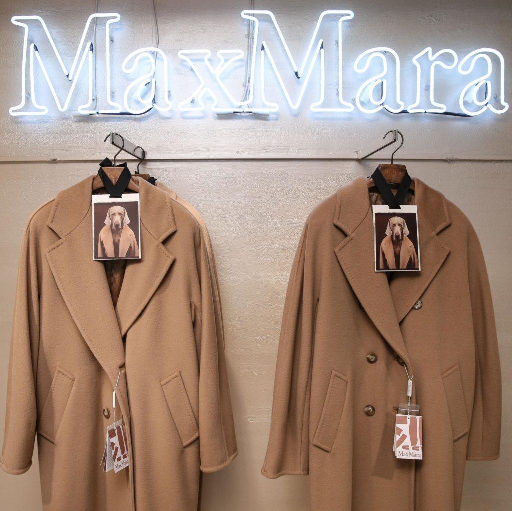Из какой ткани пальто-легенда MaxMara?