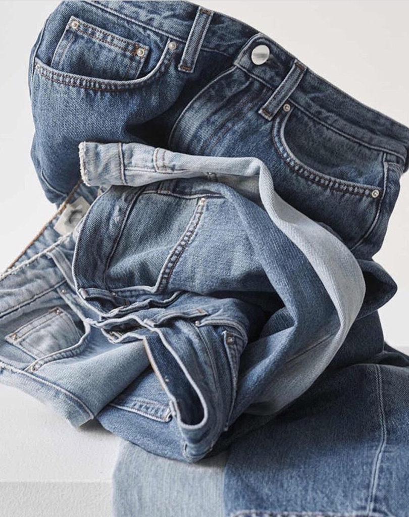 Купили новые джинсы