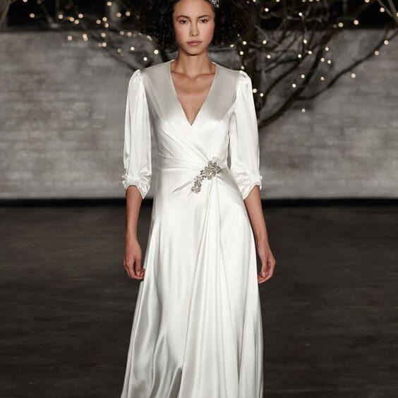 Ткань для вечернего платья в пол