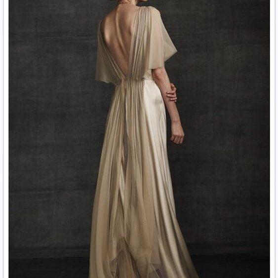 Ткань для платья в пол