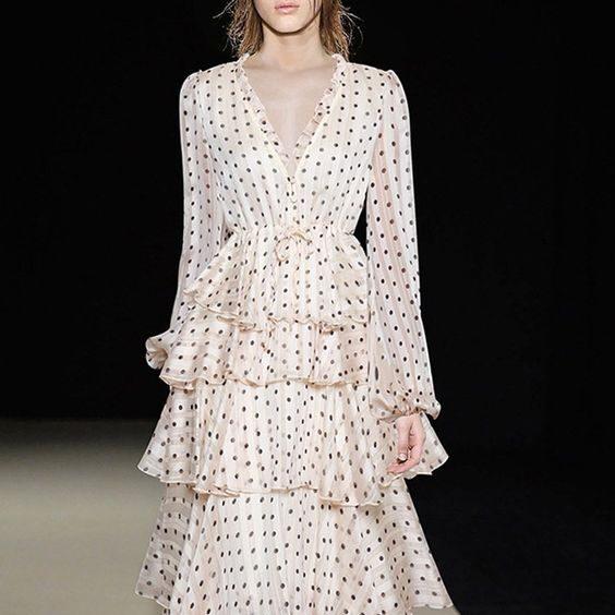 Ткань с принтом для вечернего платья