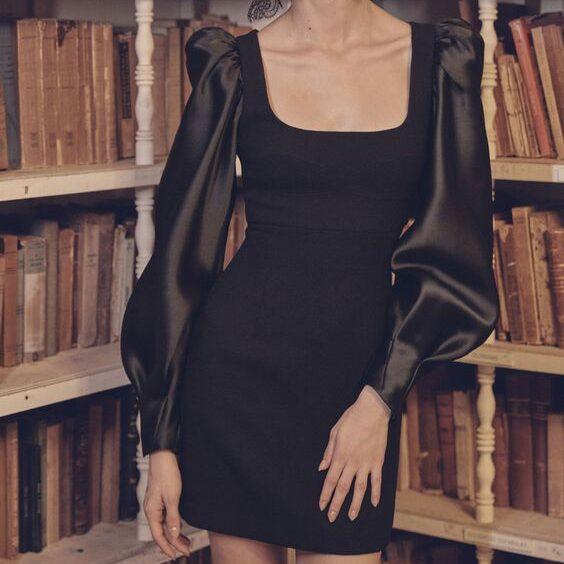 Ткань для вечернего платья-мини