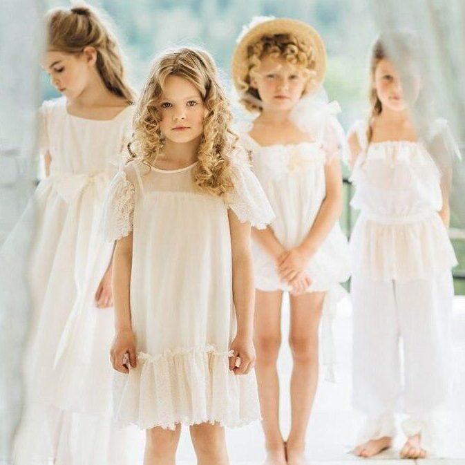 Ткань для нарядных детских платьев и романтических образов.
