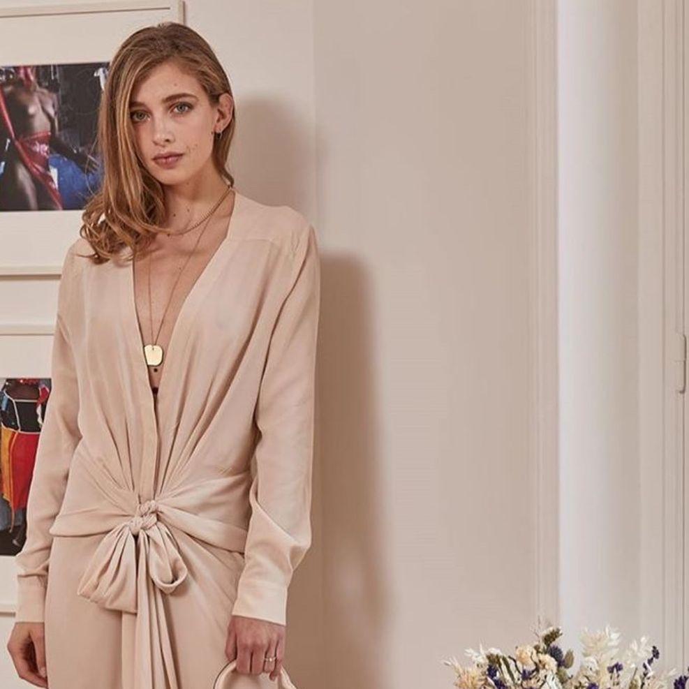 Шифонова тканина для плаття