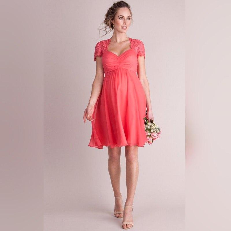 Платья для беременных. Какие ткани подходят?