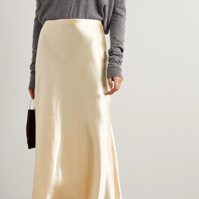 Шёлк, атлас, вискоза, какая ткань лучше для вечерней юбки?