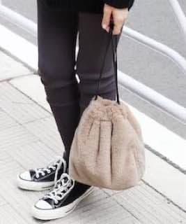 сумка из искусственного меха