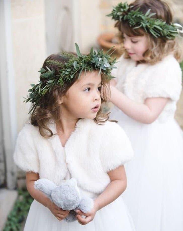 Экомех для свадебных манто
