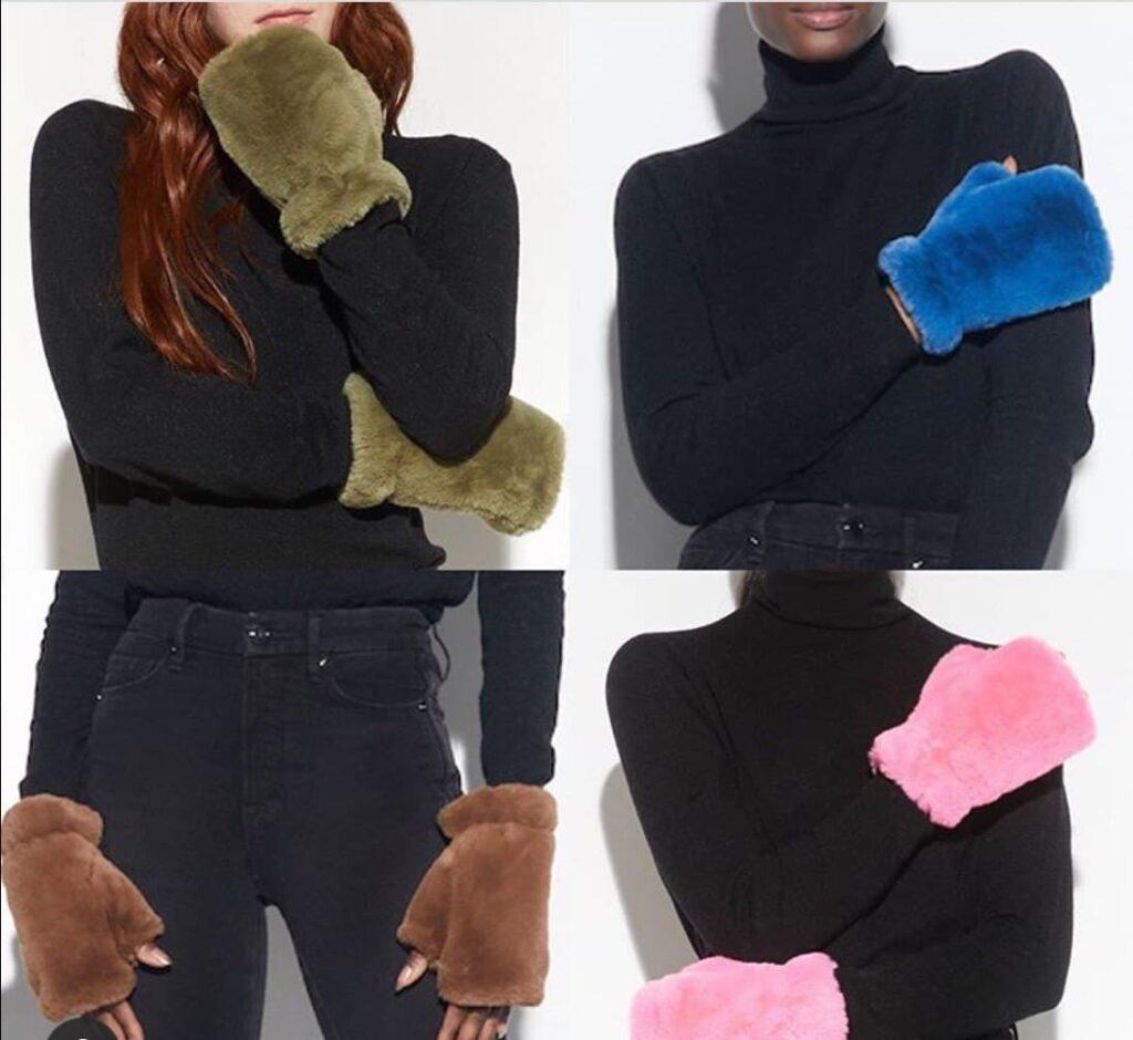 эко мех для перчаток