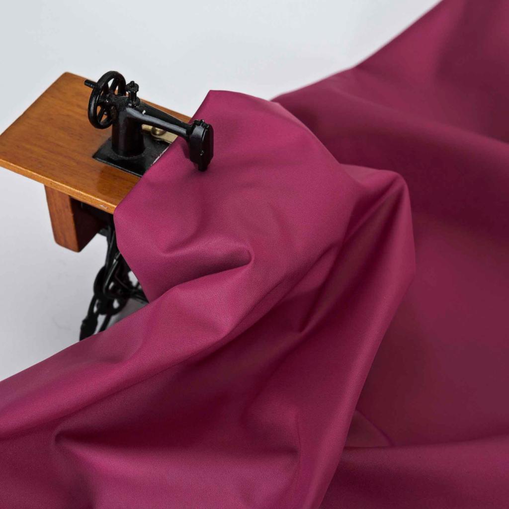 бордовая ткань для верхней одежды