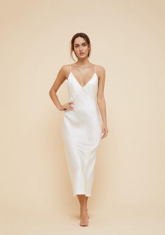 белая юбка из вискозы